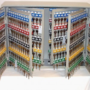 key cabinets movable hooks