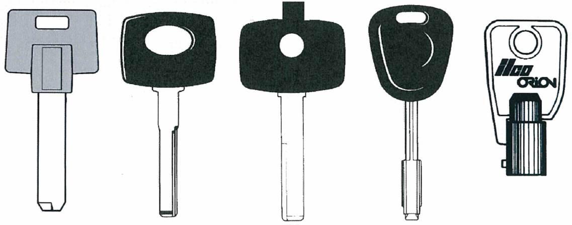 RST Mustang Key Machine