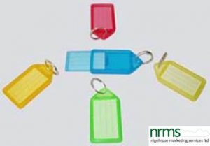 Identity Key Tags from Nigel Rose (MS) Ltd.
