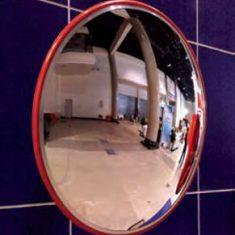 45cm Orange PoliCabonate Mirror