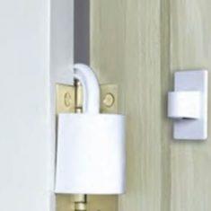 DOOR HINGE SAFETY GUARD from Nigel Rose (MS) Ltd. Lock Wholesale