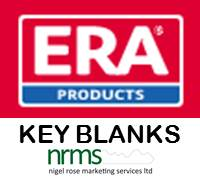 ERA Key Blanks from Nigel Rose (MS) Ltd. Lock Wholesale