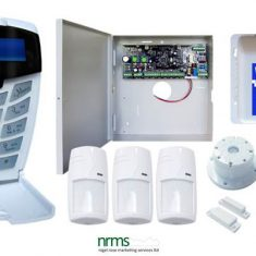 Complete 8 Zone Alarm System Expandable to 64 Monitored Zones