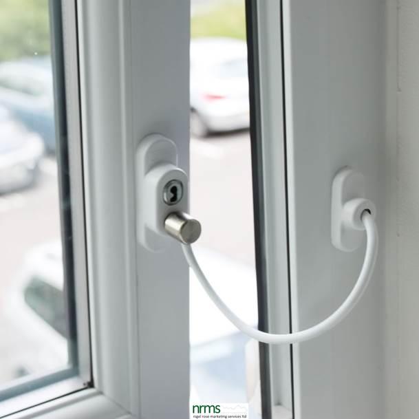 Penkid window restrictor nigel rose ms ltd for Door opening restrictor