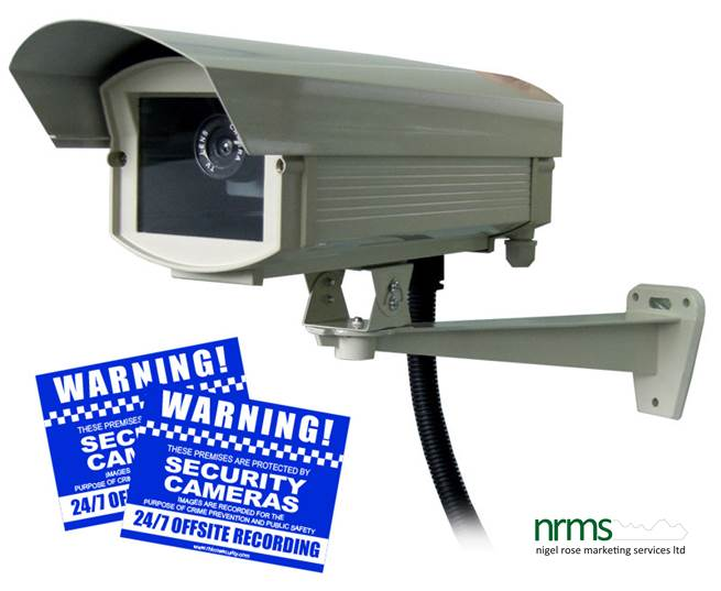Replica Surveillance Cameras