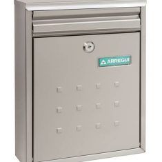 """Dime Steel and Stainless Steel Mailbox from Nigel Rose (MS) Ltd. """"The Dedicated Locksmith Wholesaler"""""""