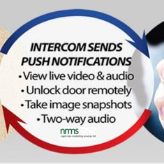 "Touchscreen IP Intercom System from Nigel Rose (MS) Ltd. Lock Wholesale 01494 438118 info@nigelrosems.co.uk ""The Dedicated Locksmith Wholesaler"""