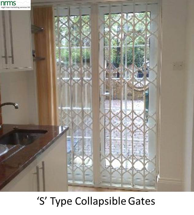 Collapsible Gates From Nigel Rose (MS) Ltd. Lock Wholesale
