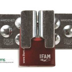 Ifam High Security Hasps & Staple from Nigel Rose (MS) Ltd. Lock Wholesale