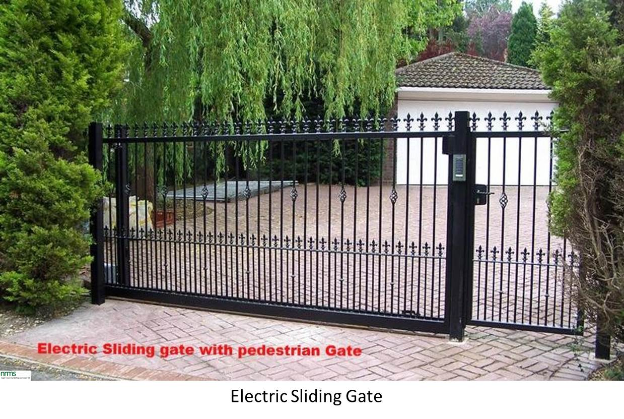 Driveway and entrance gates nigel rose ms ltd