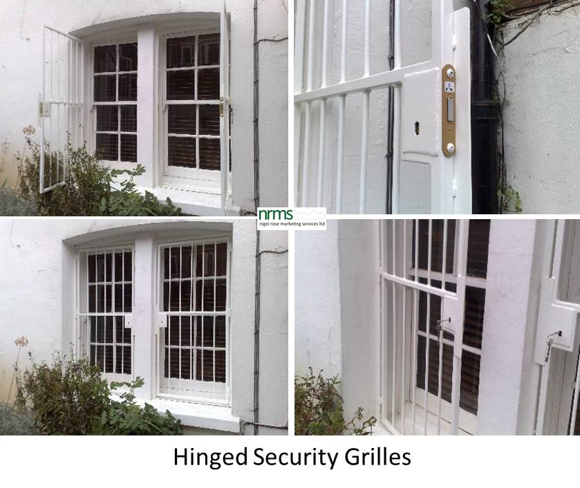 Security bar grilles and gates nigel rose ms ltd