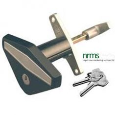 Starfleet Triangular Garage Handle from Nigel Rose (MS) Ltd. Lock Wholesale