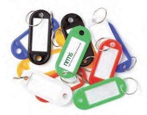 12 Key Tags Display Packaged