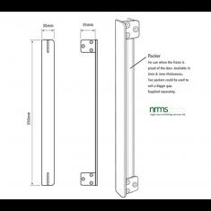 Edge Fix Anti Thrust Plates Engraved