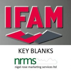 IFAM Key Blanks from Nigel Rose (MS) Ltd. Lock Wholesale
