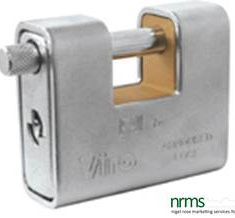 Armoured Anvil 62mm Padlock from Nigel Rose (MS) Ltd. Lock Wholesale