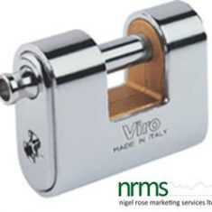 Armoured padlock 62mm PANZER from Nigel Rose (MS) Ltd. Lock Wholesale