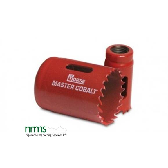 Master Cobalt Holesaw from Morse from Nigel Rose (MS) Ltd. Lock Wholesale