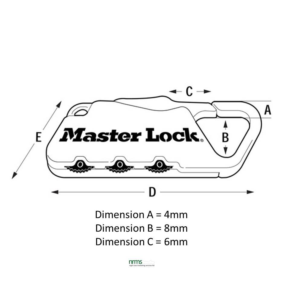 Master Lock 1549 Carabiner