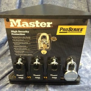 Master Lock Display Stand 1420-0660 from Nigel Rose. Lock Wholesale