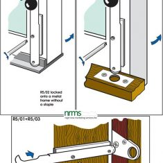"Bramah Locking Bolt for Wooden Doors and Windows from NRMS Ltd. ""The Dedicated Locksmith Wholesaler"""