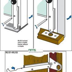 "Bramah Locking Bolt for Wooden Doors and Windows from NRMS Ltd. ""The Dedicated Locksmith Wholesaler"""