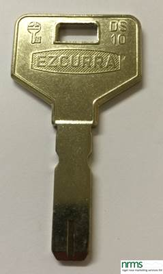 Ezcurra DS10 Key Blank