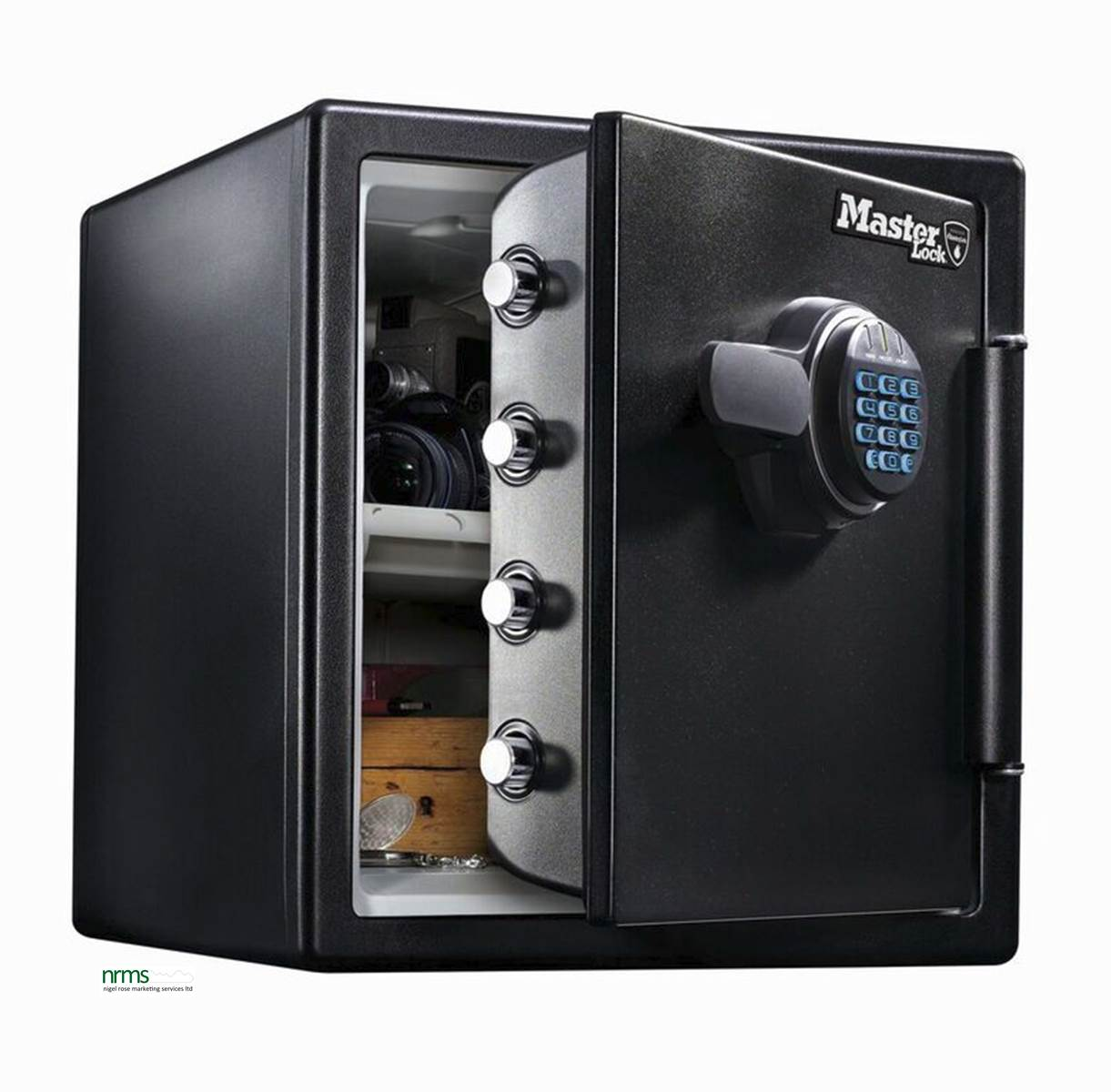 Master lock high security safes with fire water for Safe and secure products