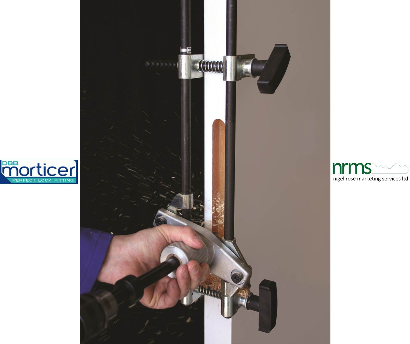 Dbb Morticer Kit Produces Perfect Recess Every Time