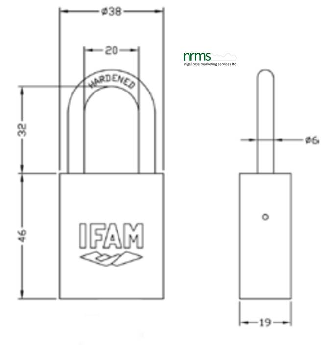 IFAM Safety Padlock COL40