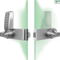 4000 Series Glass Door Lock from NRMS Ltd