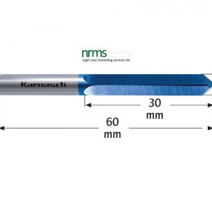 Karnasch Solid carbide drill BLUE-TEC-coated