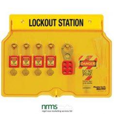Master Lock 1482BP410 Lockout station