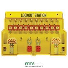 Master Lock 1483BP410 Lockout station