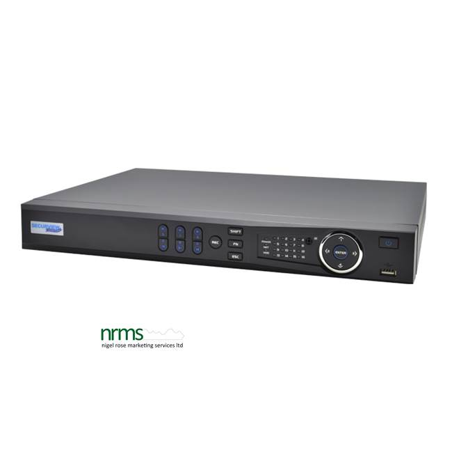 16 Channel 1080p HDCVI Digital Video Recorder