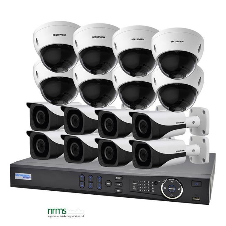 16 Channel 1080p HDCVI Complete Surveillance Kit