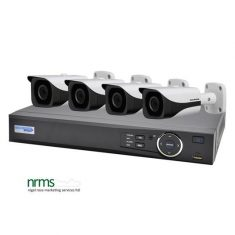 4 Channel 1080p HDCVI Complete Surveillance Kit