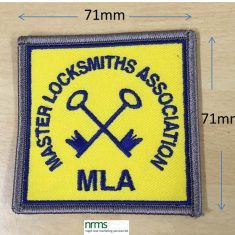 MLA Sew on Badges