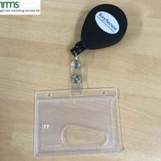 Retractable Key Reel ID Card Holder