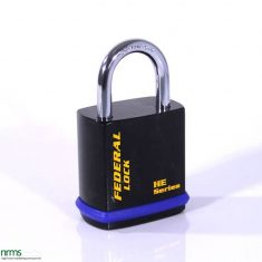 FD509HE Federal Steel Padlock 54mm for half euro