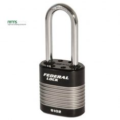 FD8102-50 Federal Heavy Duty 44mm Laminated Steel Padlock 2inch shackle