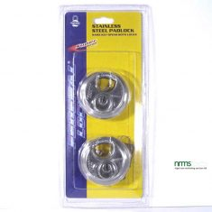 FD1000DT Federal stainless steel discus padlock 70mm twin carded KA