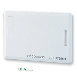 Clamshell Style Proximity Card