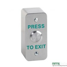 Architrave Stainless Steel Exit Button
