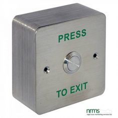 Standard Stainless Steel Exit Button