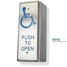 "Architrave All Active ""wheelchair logo & PUSH TO OPEN"" Switch"