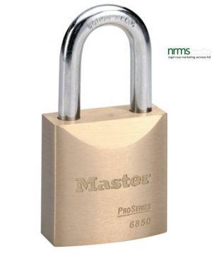 Master Lock 6850 Solid Brass Padlock