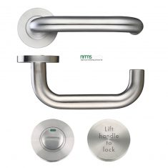 Lift to Lock Door Lever Set