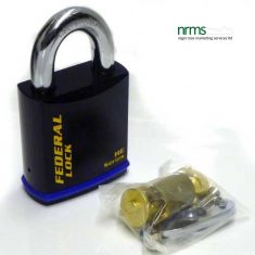 FD740EUX Federal Steel Padlock