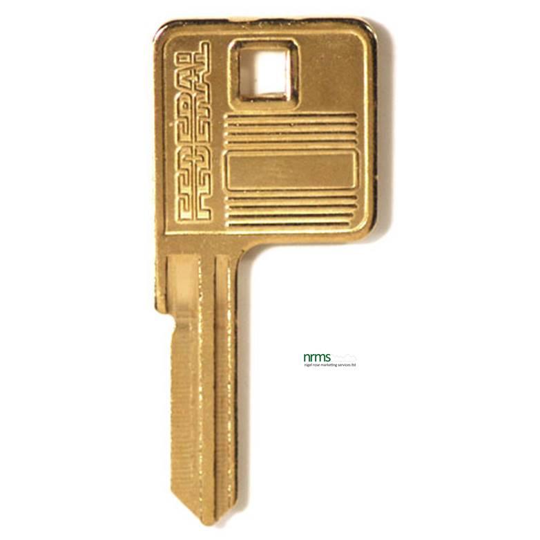 Federal 6R0 key blank - Nigel Rose (MS) Ltd